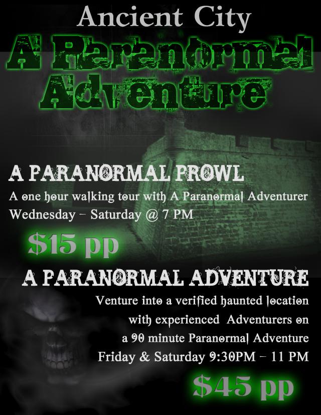 Paranormal Adventure